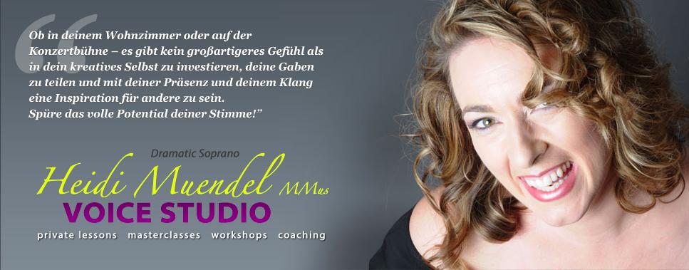Heidi Muendel Voice Studio